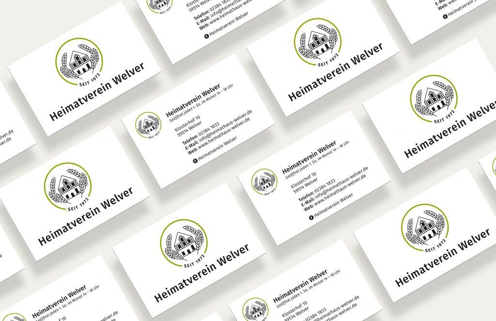 Heimatverein Welver Visitenkarten