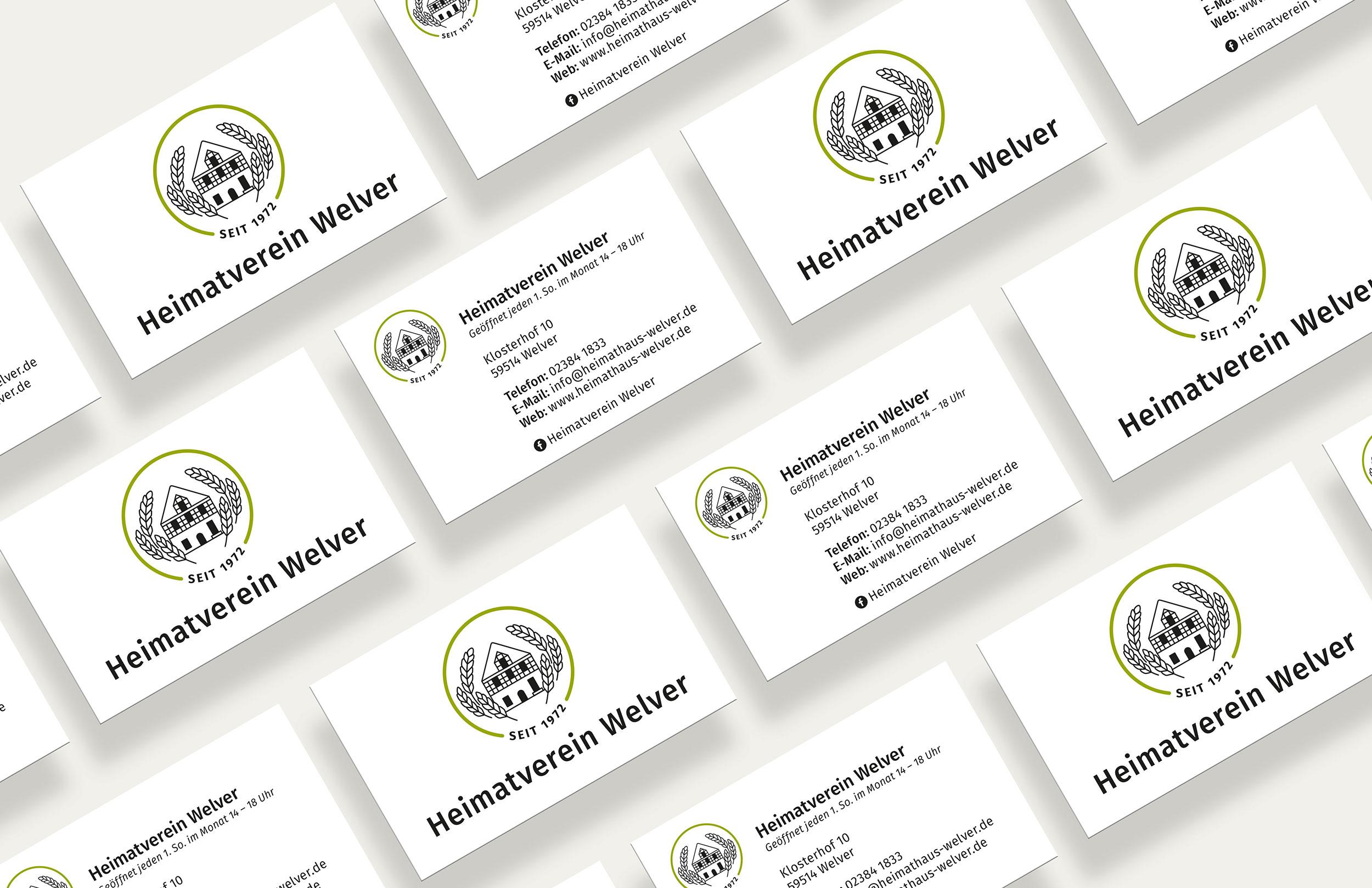 Atilde Design Visitenkarten Werbeagentur Soest