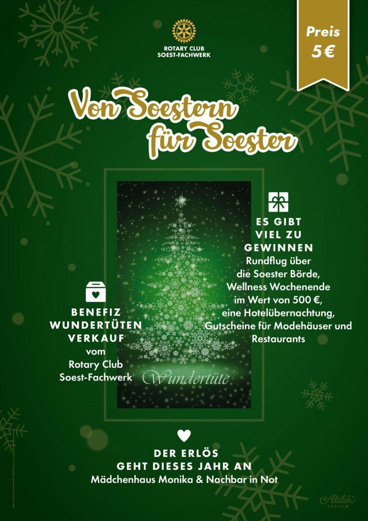 Atilde Design Mi-Ea Son Rotary Club Soest-Fachwerk Poster
